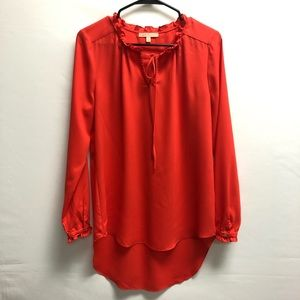 Gibson Latimer orange blouse